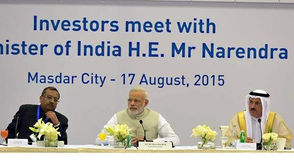 Modi presents $1 trillion investment opportunites in India to UAE