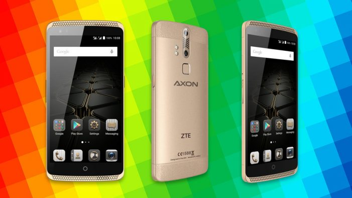 ZTE's Axon Elite Smartphone Can Be Unlocked Using Your Eyes, Voice and Fingerprints