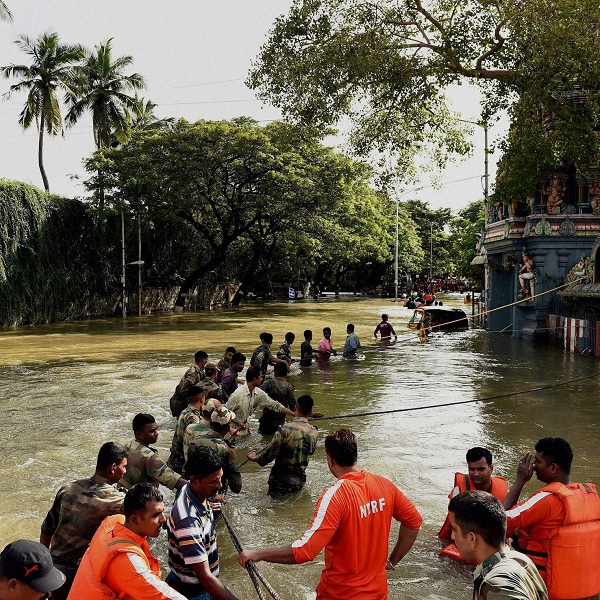 Live Updates   Heavy rain in Chennai after brief respite; NDRF sends 20 more teams, rescues 10,000