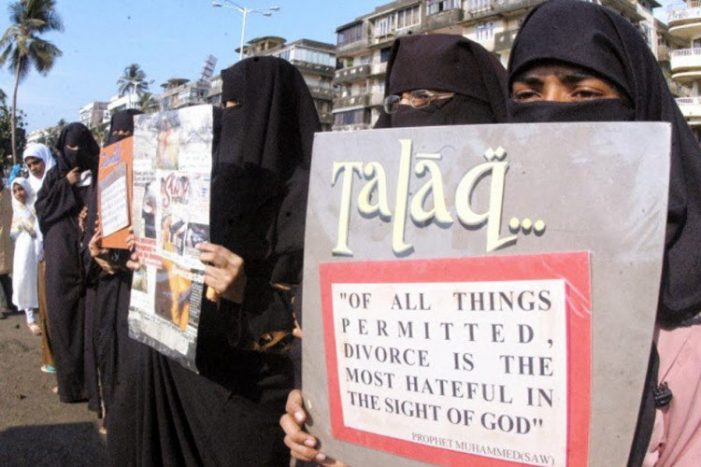 India's Muslim women fight to ban verbal triple talaq law