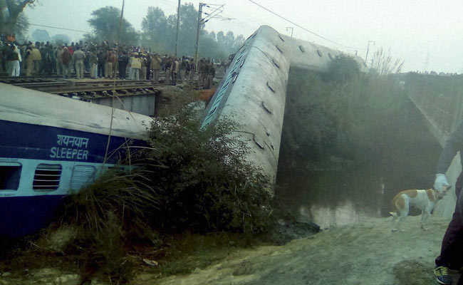Kanpur Train Accident: Over 40 Injured As Sealdah-Ajmer Express Derails
