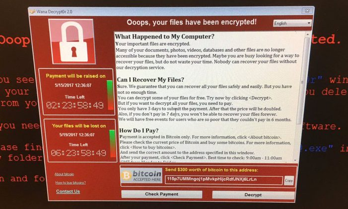 Ransomware attack hits 99 countries with UK hospitals among targets