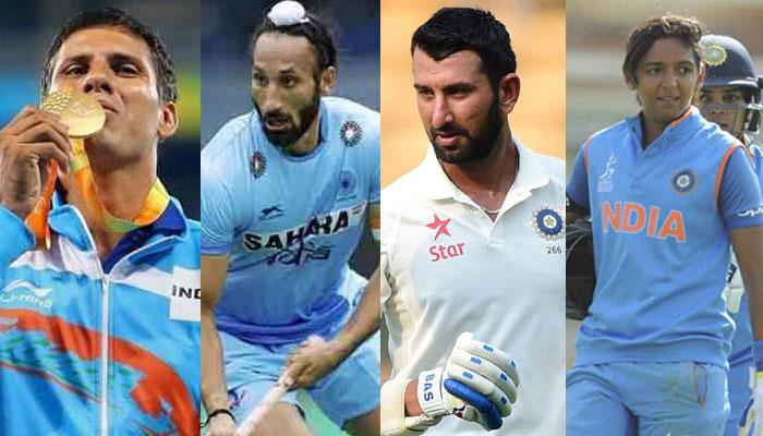 Devendra Jhajharia, Sardar Singh recommended for Khel Ratna; Harmanpreet Kaur, Cheteshwar Pujara for Arjuna awards