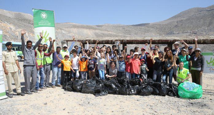 RAS AL KHAIMAH Spearheads Massive Beach Clean-up Initiative