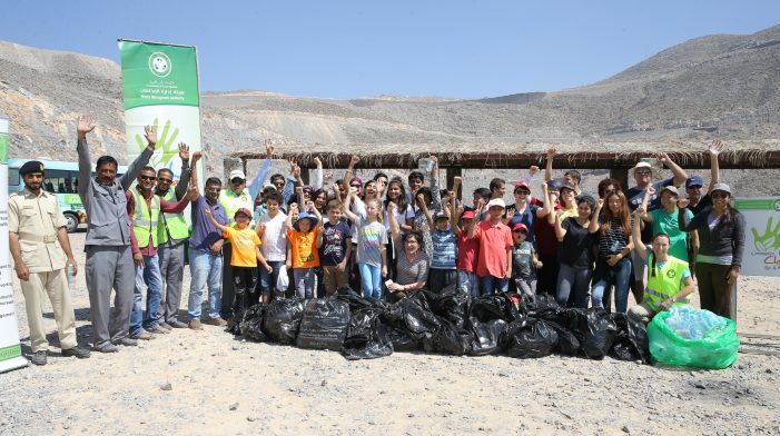 RAS AL KHAIMAH Spearheads Massive Beach Clean-up Initiative