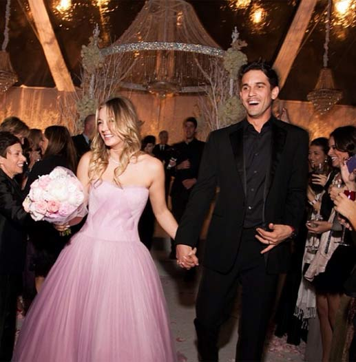 'The'Big Bang Theory' star Kaley Cuoco 'Penny' shares wedding pictures on Instagram