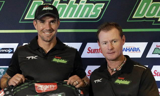 Kevin Pietersen Helps Dolphins Into South Africa's Ram Slam T20 Cricket
