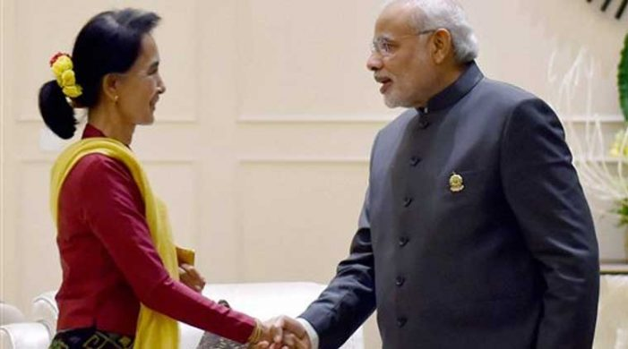 India, Myanmar to enhance security, trade ties.