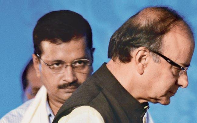 Delhi HC dismisses Kejriwal's plea to stay proceedings in defamation case filed by Arun Jaitley…