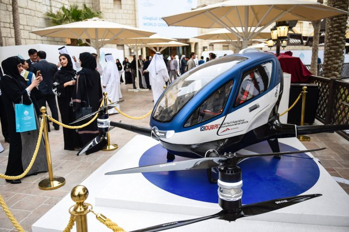 Passanger Drones will fly over Dubai