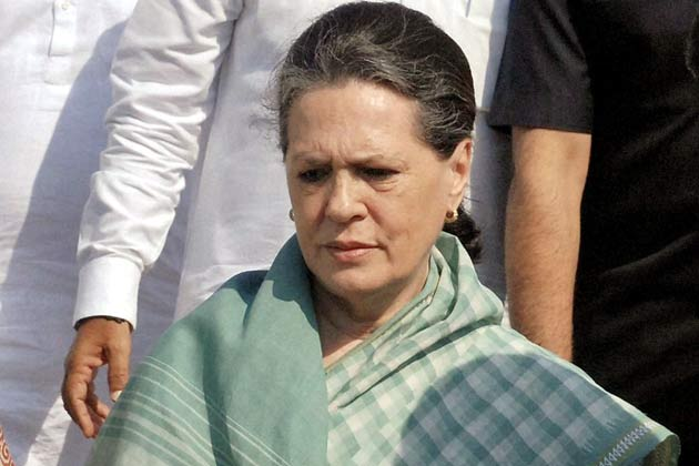 Sonia Gandhi goes abroad for check up, to miss poll results.