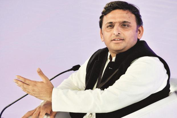 Former UP CM Akhilesh Yadav detained on Agra Lucknow Expressway.