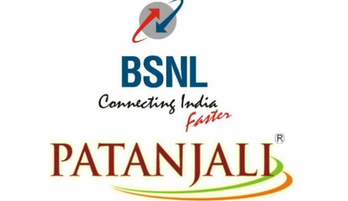 Patanjali-BSNL  launched new SIM Card