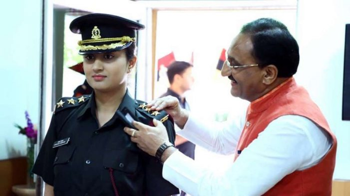 BJP MP Ramesh Pokhriyal's daughter is going to serve in the Army and he couldn't be more proud