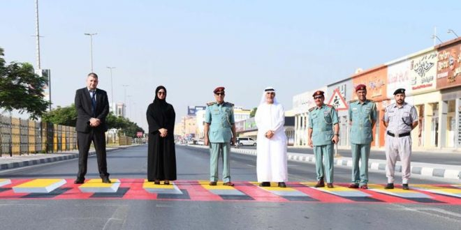 New 3D crossing introduced as part of bold road safety vision in Ras Al Khaimah